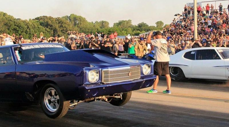 Street Outlaws Invade Redding Dragstrip