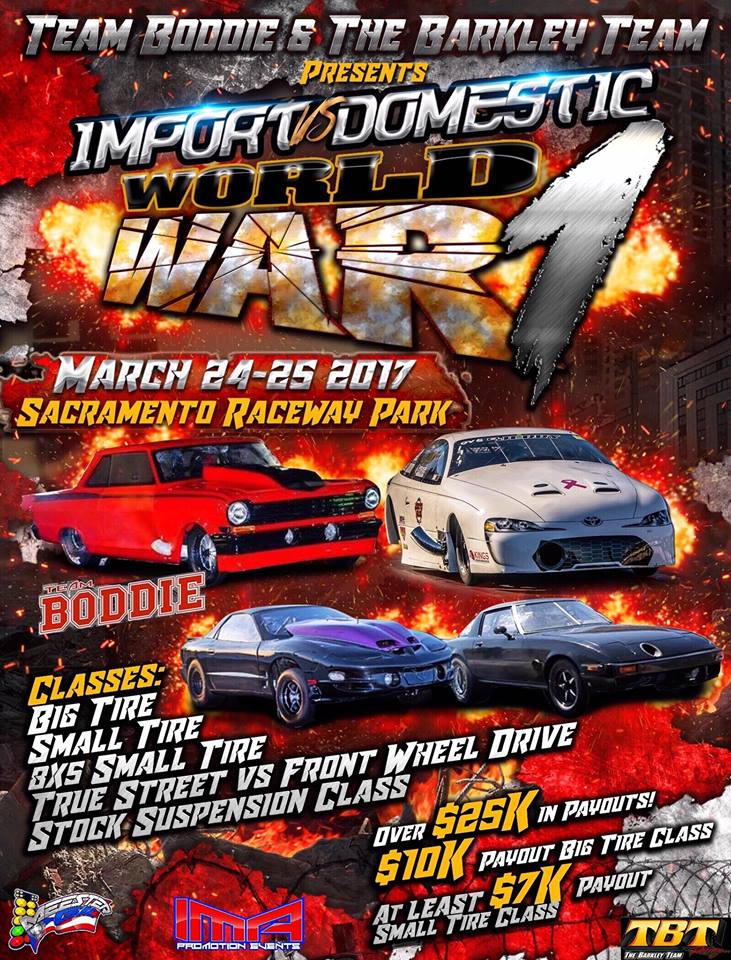 Import vs. Domestic WW1 Event Flyer